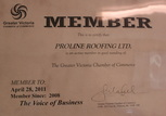 member licensed certified roofing company