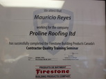 firestone licensed certified rooding company contractor victoria