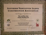 vancouver island construction association proline roofing
