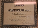 iko shieldpro licensed roofing certified contractor company vancouver island victoria
