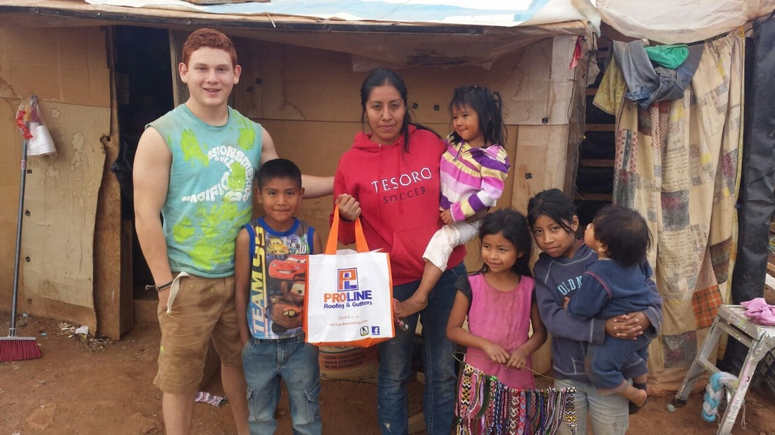 tijuana mexico donating food proline roofing victoria bc